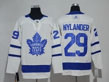Mens Nhl Toronto Maple Leafs #29 William Nylander White Adidas Jersey