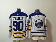 Mens Nhl Buffalo Sabres #90 Ryan O'reilly 2018 Winter Classic White Adidas Jersey