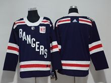 Mens Nhl New York Rangers Blank Dark Blue 2018 Winter Classic Breakaway Adidas Jersey