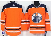Mens Adidas Nhl Edmonton Oilers Blank Orange Jersey