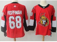 Mens Ottawa Senators #68 Mike Hoffman Red Home Adidas Jersey