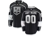 Mens Nhl Los Angeles Kings Custom Made Black Adidas Jersey
