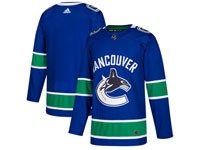 Mens Nhl Vancouver Canucks Blank Blue Home Adidas Player Jersey