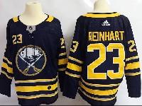 Mens Nhl Buffalo Sabres #23 Sam Reinhart Dark Blue Home Adidas Jersey
