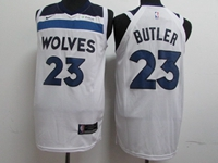 Mens 2017-18 Season Nba Minnesota Timberwolves #23 Jimmy Butler White Nike Player Jersey
