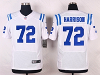 Mens Nfl Indianapolis Colts #72 Harrison White Elite Nike Jersey