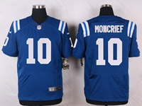 Mens Nfl Indianapolis Colts #10 Donte Moncrief Blue Elite Nike Jersey