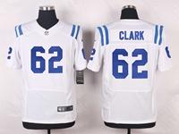 Mens Nfl Indianapolis Colts #62 Le'raven Clark White Elite Nike Jersey