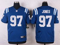 Mens Nfl Indianapolis Colts #97 Jones Blue Elite Nike Jersey
