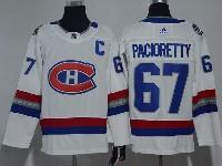 Mens Montreal Canadiens #67 Max Pacioretty 2017 Nhl 100 Classic Breakaway White Adidas Jersey