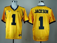 Mens Ncaa Nfl California Golden Bears #1 Desean Jackson Gold Jersey