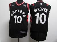 Mens Nba Toronto Raptors #10 Demar Derozan Black Nike Jersey
