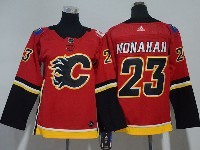 Youth Nhl Calgary Flames #23 Sean Monahan Red Adidas Jersey