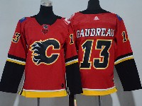 Youth Nhl Calgary Flames #13 Johnny Gaudreau Red Adidas Jersey