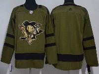 Mens Adidas Nhl Pittsburgh Penguins Blank Green Hockey Jersey
