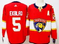 Mens Nhl Florida Panthers #5 Aaron Ekblad Red Adidas Jersey