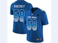 Mens Nfl Carolina Panthers #59 Luke Kuechly Blue 2018 Pro Bowl Vapor Untouchable Jersey