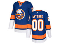 Mens Nhl New York Islanders Custom Made Blue Home Adidas Jersey