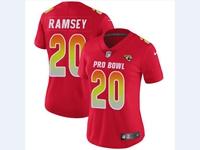 Women Nfl Jacksonville Jaguars #20 Jalen Ramsey Red 2018 Pro Bowl Vapor Untouchable Jersey