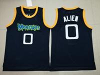 Nba Monstars #0 Alien Movie Monsters Team Dark Blue Mesh Jersey