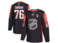 Mens Nashville Predators #76 P. K. Subban 2018 Nhl All-star Game Breakaway Adidas Black Jersey