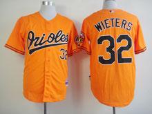 Mens Mlb Baltimore Orioles #32 Matt Wieters Orange Cool Base Jersey