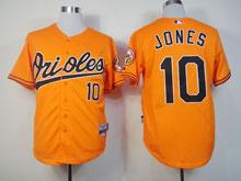 Youth Mlb Baltimore Orioles #10 Adam Jones Orange Cool Base Jersey