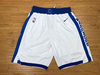 Mens Nba Golden State Warriors White Throwbacks Socks Nike Shorts