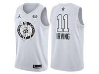 Mens Nba 2018 All Star Boston Celtics #11 Kyrie Irving White Jersey