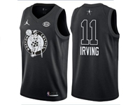 Mens Nba 2018 All Star Boston Celtics #11 Kyrie Irving Black Jersey