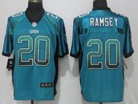 Mens Nfl Jacksonville Jaguars #20 Jalen Ramsey Drift Fashion Blue Elite Nike Jersey