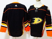 Mens Nhl Anaheim Mighty Ducks Blank Black Adidas Jersey
