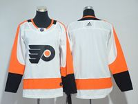 Women Youth Nhl Philadelphia Flyers Blank White Adidas Jersey