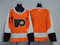 Women Nhl Philadelphia Flyers Blank Orange Adidas Jersey