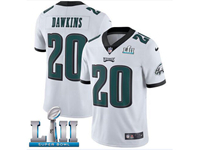 Mens Women Youth Nfl Philadelphia Eagles #20 Brian Dawkins White 2018 Super Bowl Lii Bound Vapor Untouchable Limited Jersey