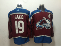 Mens Nhl Colorado Avalanche #19 Joe Sakic Red Adidas Jersey