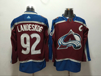 Mens Nhl Colorado Avalanche #92 Gabriel Landeskog Red Adidas Jersey
