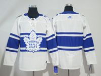 Mens Nhl Toronto Maple Leafs Blank White Breakaway Player Adidas Jersey