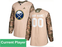 Mens Women Youth Nhl Buffalo Sabres Khaki Adidas General Jersey