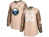 Mens Women Youth Nhl Buffalo Sabres (custom Made) Khaki Adidas General Jersey