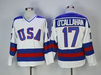 Mens Nhl Team Usa #17 O'callahan White Jersey