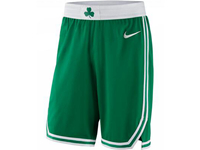 Mens 2017-18 Season Nba Boston Celtics Green Nike Shorts