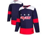 Mens Nhl Washington Capitals Blank Blue 2018 Stadium Series Pro Player Adidas Jersey