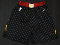 Mens 2017-18 Season Nba Cleveland Cavaliers Black Nike Shorts