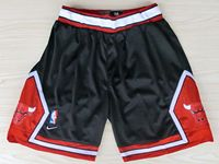 Mens Nba Chicago Bulls Black Nike Shorts(mesh)