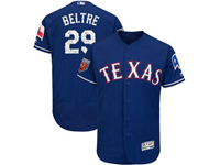 Mens Mlb Texas Rangers #29 Adrian Beltre Majestic Blue 2018 Spring Training Cool Base Player Jersey