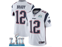 Mens Women Youth New England Patriots White Current Player 2019 Super Bowl Lii Bound Vapor Untouchable Limited Jersey