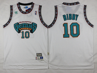 Mens Nba Vancouver Grizzlies #10 Mike Bibby White Swingman Jersey