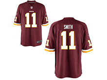 Mens Womens Youth Nfl Washington Redskins #11 Alex Smith Red Nike Game Jersey