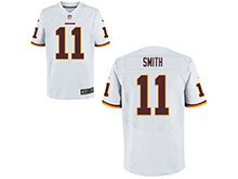Mens Nfl Washington Redskins #11 Alex Smith White Nike Elite Jersey
